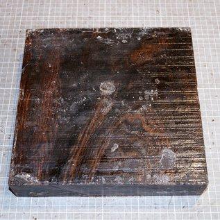Bocote, ca. 260 x 255 x 55 mm, 4 kg