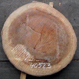 Bubinga Baumscheibe, Ø ca. 900 x 75 mm Stärke, 40523