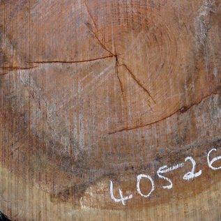 Bubinga Baumscheibe, Ø ca. 900 x 70 mm Stärke, 40526
