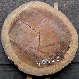 Bubinga Baumscheibe, Ø ca. 850 x 70 mm Stärke, 40529