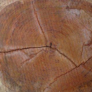 Bubinga Baumscheibe, Ø ca. 850 x 70 mm Stärke, 40530
