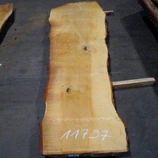 Libanon Zeder, Tischplatte, ca. 3100 x 670/720/1030 x 80 mm, 11797