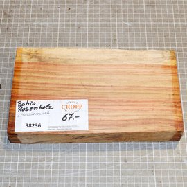 Brazilian tulipwood approx. 245 x 140 x 41 mm, 1,4 kg