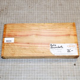 Bahia Rosenholz ca. 295 x 145 x 35 mm, 1,6 kg