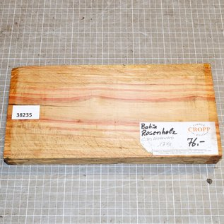 Brazilian tulipwood approx. 295 x 145 x 35 mm, 1,6 kg
