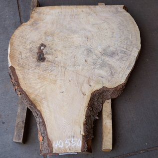 Fichte Maser, Tischplatte, ca. 970 x 820 x 52 mm, 40550