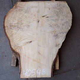 Fichte Maser, Tischplatte, ca. 960 x 830 x 52 mm, 40548