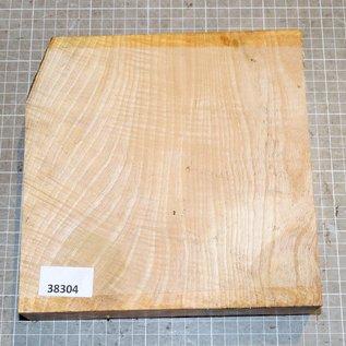 Ash fiddleback approx. 215 x 213 x 52 mm, 1,9 kg