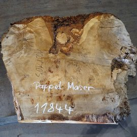 Mappa burl, table top, approx. 1000 x 1030(1260) x 80 mm, 11844