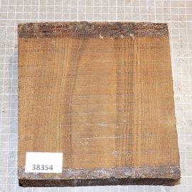 Bocote, approx. 180 x 170 x 62 mm, 1,9 kg
