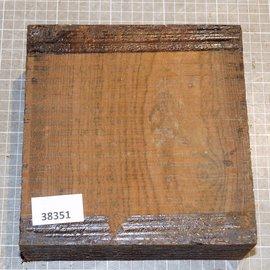 Bocote, ca. 180 x 175 x 72 mm, 2,5 kg