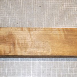 Teak flamed, approx. 440 x 110 x 40 mm, 1,7 kg
