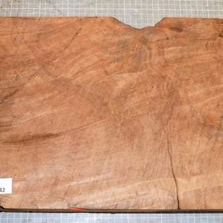 Redwood flamed, approx. 450 x 300 x 53 mm, 2,8 kg