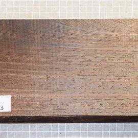 Wenge, approx. 245 x 130 x 52 mm, 1,4 kg