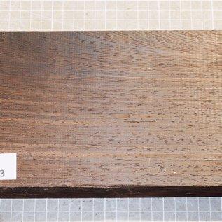 Wenge, ca. 245 x 130 x 52 mm, 1,4 kg