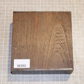 Wenge, approx. 150 x 150 x 50 mm, 1,0 kg