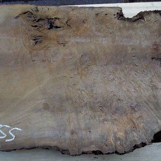 Laurel, burl slab, approx. 960 x 630 x 63 mm, 40555