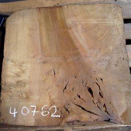 Laurel, burl slab, approx. 640 x 620 x 63 mm, 40762