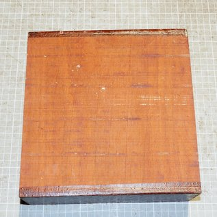 Padouk ca. 215 x 215 x 78 mm, 3,3 kg