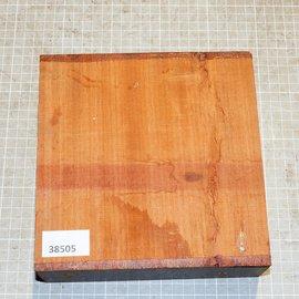 Padouk, approx. 190 x 190 x 65 mm, 1,8 kg