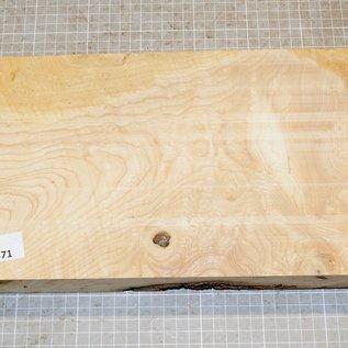 Esche Maser/Riegel, ca. 340 x 190 x 52 mm, 2,3 kg