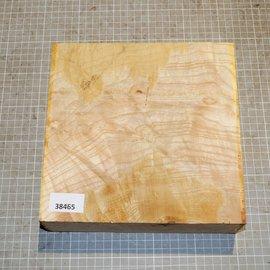 Ash burl/fiddleback, approx. 225 x 225 x 65 mm, 2,4 kg