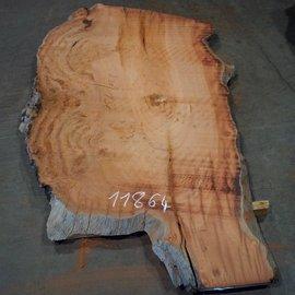 Eukalyptus Maser, Tischplatte, ca. 2200 x 1360 x 52 mm, 11864