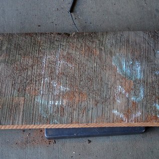 Redwood Maser, ca. 860 x 380 x 65 mm, 60794