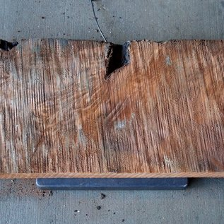 Redwood Maser, ca. 860 x 380 x 65 mm, 60795