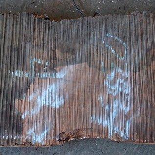 Redwood Maser, ca. 950 x 400 x 65 mm, 60808