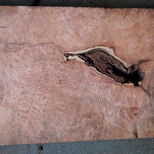Redwood Maser, ca. 950 x 420 x 75 mm, 60817