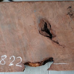Redwood burl, approx. 1200 x 520 x 52 mm, 60822