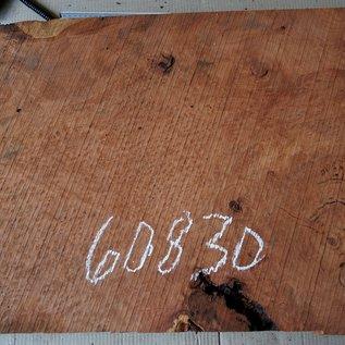 Redwood burl, approx. 800 x 520 x 52 mm, 60830