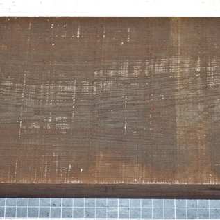 Wenge, ca. 255 x 150 x 51 mm, 1,8 kg