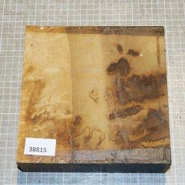 African birch, approx. 190 x 190 x 52 mm, 2,2 kg