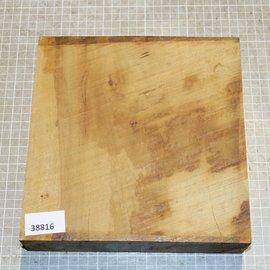 African birch, approx. 215 x 215 x 52 mm, 2,7 kg