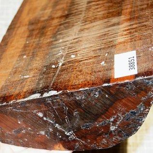 Snakewood, Letterwood, approx. 320 x 190 x 75 mm, 5 kg