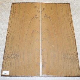 Ziricote, guitar bottoms, approx. 550 x 230 x 4 mm, ca. 1,2 kg