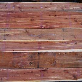 Florida Zeder Schnittholz, künstl. getrocknet, 52 mm