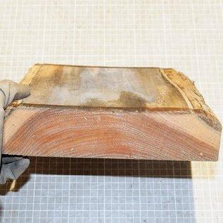 Red Elm, ca. 230 x 230 x 50 mm, 1,9 kg