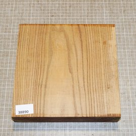 Red Elm, approx. 230 x 230 x 51 mm, 2 kg
