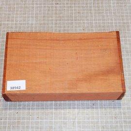 Padouk afrikanisch ca. 255 x 140 x 52 mm, 1,6 kg