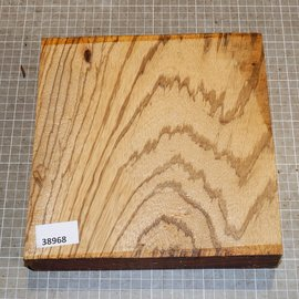 Zebrano ca. 230 x 230 x 45 mm, 2,1 kg