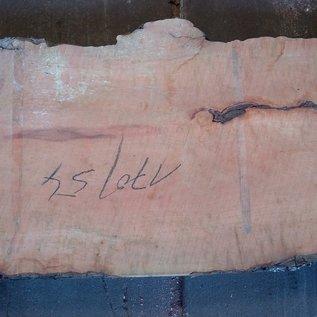 Birne Tischplatte, ca. 1700 x 540(600) x 52 mm, 12173