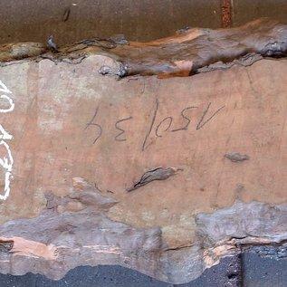 Birne Tischplatte, ca. 1500(1700) x 340(450) x 52 mm, 12183