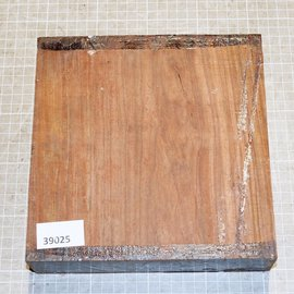 Cocobolo Rosewood approx. 200 x 200 x 52 mm, 2,1 kg