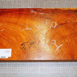 Afzelia approx. 500 x 260 x 50/44 mm, 5,8 kg