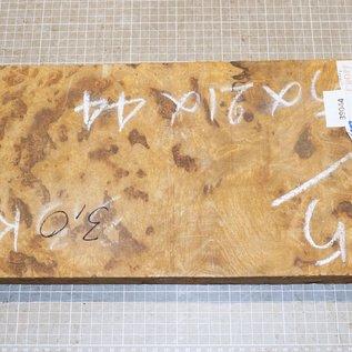 Golden Madrone Maser ca. 430 x 210 x 38/41 mm, 3,0 kg