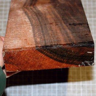 Macassar Ebony, approx. 300 x 120 x 34/39 mm, 1,4 kg