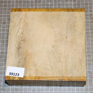 Satin, Zitronenholz, ca. 170 x 170 x 55 mm, 1,5 kg